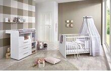 BMG Babyzimmer-Komplettset Luis, (3-tlg), Bett +