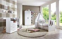 BMG Babyzimmer-Komplettset Luis, (4-tlg), Bett +