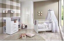 BMG Babyzimmer-Komplettset Luis, (5-tlg), Bett +
