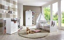 BMG Babyzimmer-Komplettset Luis, (6-tlg), Bett +