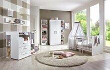 BMG Babyzimmer-Komplettset Luis, (7-tlg), Bett +