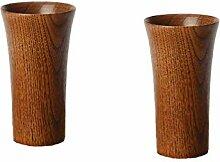 BMTick kleine, minimalistische Holzvase für