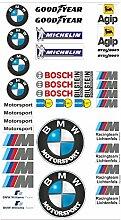 BMW Logo Autoaufkleber Sponsoren Marken Aufkleber