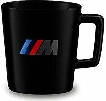 BMW M Logo Tasse NEU Schwarz Becher Kaffeebecher