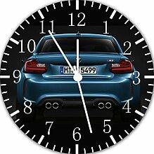 BMW Wanduhr 25,4 cm Will Be Nice Gift und Raum