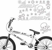 BMX Aufkleber Set für Fahrräder Sticker Motive