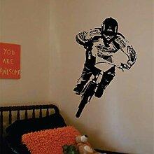 Bmx Biker Aufkleber Vinyl Wandkunst Aufkleber Für