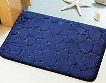 BNMZX Badezimmer Küche Anti-Rutsch-Matten-Tür Wohnzimmer Schlafzimmer Teppich,40*60cm-I