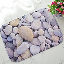 BNMZX Badezimmer Küche Anti-Rutsch-Matten-Tür Wohnzimmer Schlafzimmer Teppich 40 * 60cm,40*60cm-G