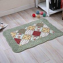 BNMZX Badezimmer Küche Anti-Rutsch-Matten-Tür Wohnzimmer Schlafzimmer Teppich,50*70cm-H