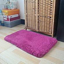 BNMZX Badezimmer Küche Anti-Rutsch-Matten-Tür Wohnzimmer Schlafzimmer Teppich 50 * 80cm,50*80cm-I