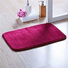 BNMZX Badezimmer Küche Anti-Rutsch-Matten-Tür Wohnzimmer Schlafzimmer Teppich,C-50*80cm