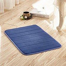 BNMZX Badezimmer Küche Anti-Rutsch-Matten-Tür Wohnzimmer Schlafzimmer Teppich,40*60cm-H