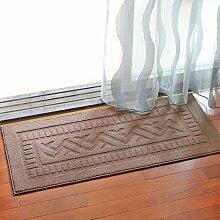 BNMZX Badezimmer Küche Anti-Rutsch-Matten-Tür Wohnzimmer Schlafzimmer Teppich,50*110cm-C