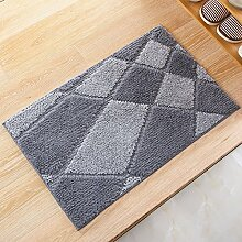 BNMZX Badezimmer Küche Anti-Rutsch-Matten-Tür Wohnzimmer Schlafzimmer Teppich,50*80cm-N