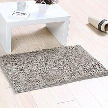 BNMZX Badezimmer Küche Anti-Rutsch-Matten-Tür Wohnzimmer Schlafzimmer Teppich,N-40*60cm