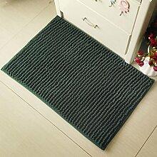 BNMZX Badezimmer Küche Anti-Rutsch-Matten-Tür Wohnzimmer Schlafzimmer Teppich 40 * 60cm,F-40*60cm