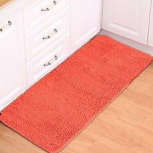BNMZX Badezimmer Küche Anti-Rutsch-Matten-Tür Wohnzimmer Schlafzimmer Teppich,40*120cm-A