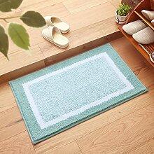 BNMZX Badezimmer Küche Anti-Rutsch-Matten-Tür Wohnzimmer Schlafzimmer Teppich,50*80cm-B
