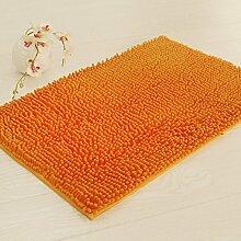 BNMZX Badezimmer Küche Anti-Rutsch-Matten-Tür Wohnzimmer Schlafzimmer Teppich 50 * 80cm,50*80cm-F