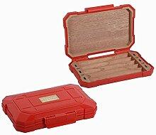 BNVN Cigar Travel Humidor Case, Zigarren Case