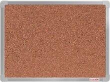 Boardok kork-pinnwand mit aluminiumrahmen, 60x45