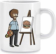 Bob Belcher Ross - Bob Burgers Kaffeebecher Becher
