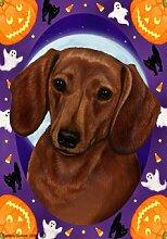 Bob Dackel rot von Tamara Burnett Halloween Trend