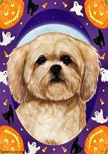 Bob Lhasa Apso Creme von Tamara Burnett Halloween