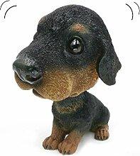 Bobbing Head Wackeldackel Ornaments Mini