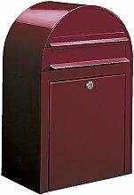 Bobi Classic Briefkasten RAL 3005 Bordeauxrot