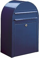 Bobi Classic Briefkasten RAL 5003 blau