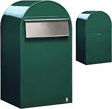 Bobi Grande B Briefkasten RAL 6005 grün, Klappe