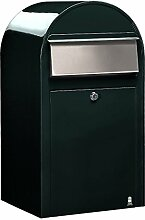 Bobi Grande Briefkasten COL 6064 schwarzgrün,