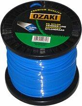 Bobine Fil Ozaki Carré Diamètre (mm): 3 - Longueur (M): 240 - Herbes épaisses