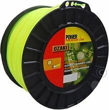 Bobine Fil Ozaki Premium Line Rond Diamètre (mm): 2.4 - Longueur (M): 264 - Herbes épaisses
