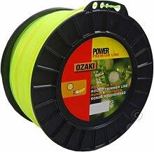 Bobine Fil Ozaki Premium Line Rond Diamètre (mm): 3 - Longueur (M): 169 - Herbes épaisses