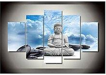 boboyz Leinwanddrucke Buddha Gemälde auf Leinwand