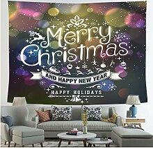 BOBSUY Weihnachtsdekoration Wall Tapestry