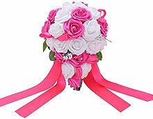 Bodarind Rose Waterfalls Design Künstliche Blumen