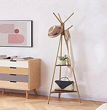Boden Garderobe Schlafzimmer kleiner Kleiderbügel