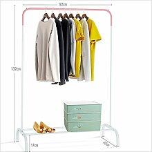 Boden Kleiderbügel einpolige Kleiderstange Innen