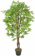 Boden-Kunstbaum Ahorn im Topf Die Saisontruhe