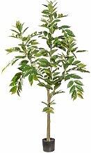 Boden-Kunstbaum Bambus im Topf Die Saisontruhe