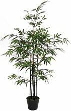 Boden Kunstbaum Bambus im Topf