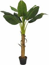 Boden-Kunstbaum Bananenbaum im Übertopf Esprit