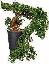 Boden-Kunstbaum Bonsai im Topf Die Saisontruhe
