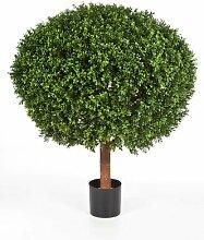 Boden-Kunstbaum Buchsbaum im Topf Tom artplants.de