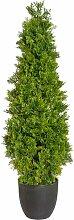 Boden-Kunstbaum Zypresse Die Saisontruhe