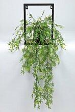 Boden-Kunstpflanze Bambus im Topf